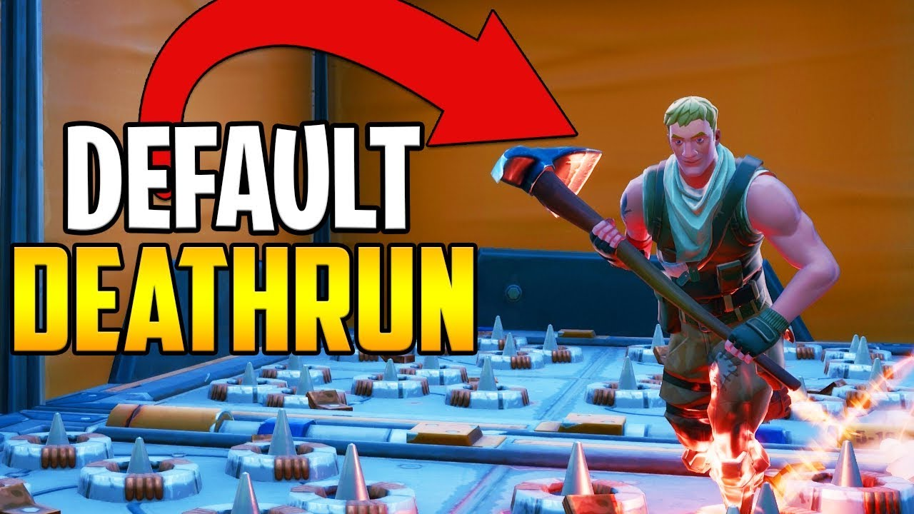 I made a 150 Level DEFAULT Deathrun! (Fortnite Creative ...