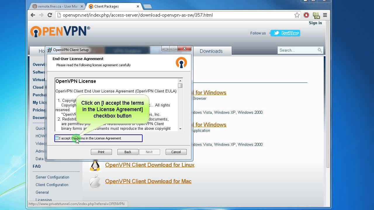 How to download and install OpenVPN Client Windows 7 8 and ...
