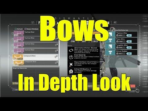 Metal Gear Survive- Bows In Depth Look