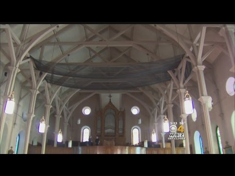 South Boston Church Closed Due To Crumbling Plaster