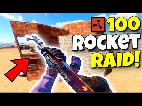 RUST - 100 ROCKET RAID ON THE GRAND FRUSTRATOR! thumbnail