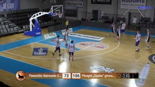 """Basketnews.lt Lietuva pusfinalis: Panevėžio R. Sargūno SG vs Plungės """"Saulės"""" gimnazija"""