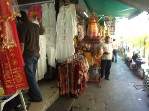 (Pahurat) Little India in Bangkok, Thailand พาหุรัด