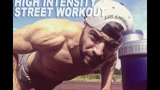 Street Workout - Fat Burning High Intensity Interval Training - HIIT
