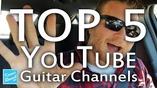 The Top 5 Guitar Channels on Youtube