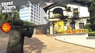 What Happens If You BLOW UP Michael's House in GTA 5?