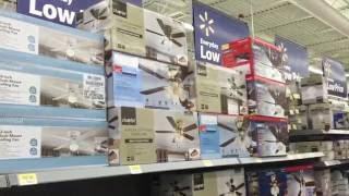 Walmart Ceiling Fan Dept. |  2016