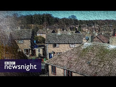 Prefab homes: The residents fighting eviction in Leeds - BBC Newsnight