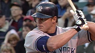 Jason Giambi collects first hit with Yankees