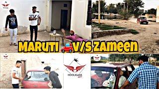 Maruti v/s  Zameen  ॥Hooligans jatt ॥ latest funny video