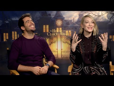 THE HOUSE WITH A CLOCK IN ITS WALLS interviews - Blanchett, Roth, Black, MacLachlan Mp3