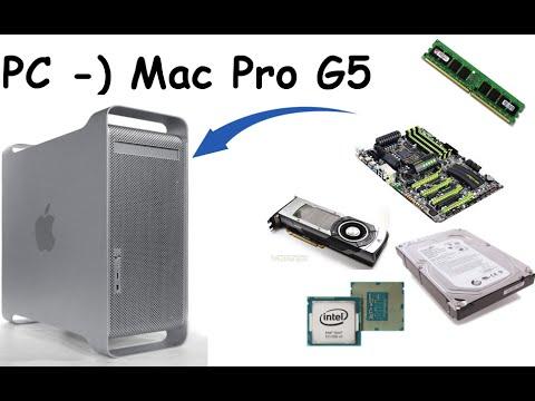 UMBAU Windows PC in MAC Pro G5 Gehäuse [FULLHD60]