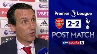 """We deserved to win"" | Unai Emery Post Match | Arsenal 2-2 Tottenham"