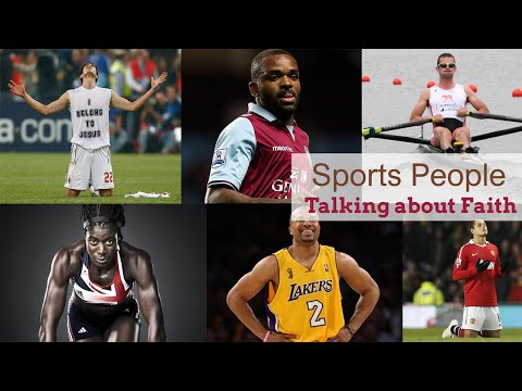 Sporting Celebrity Christians Talking about their Faith, God and Jesus.