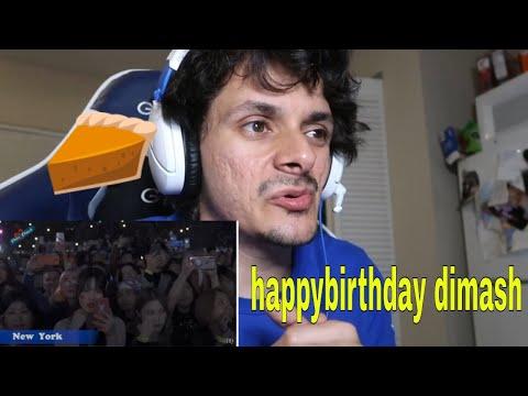 Happy Birthday, Dimash! Reaction