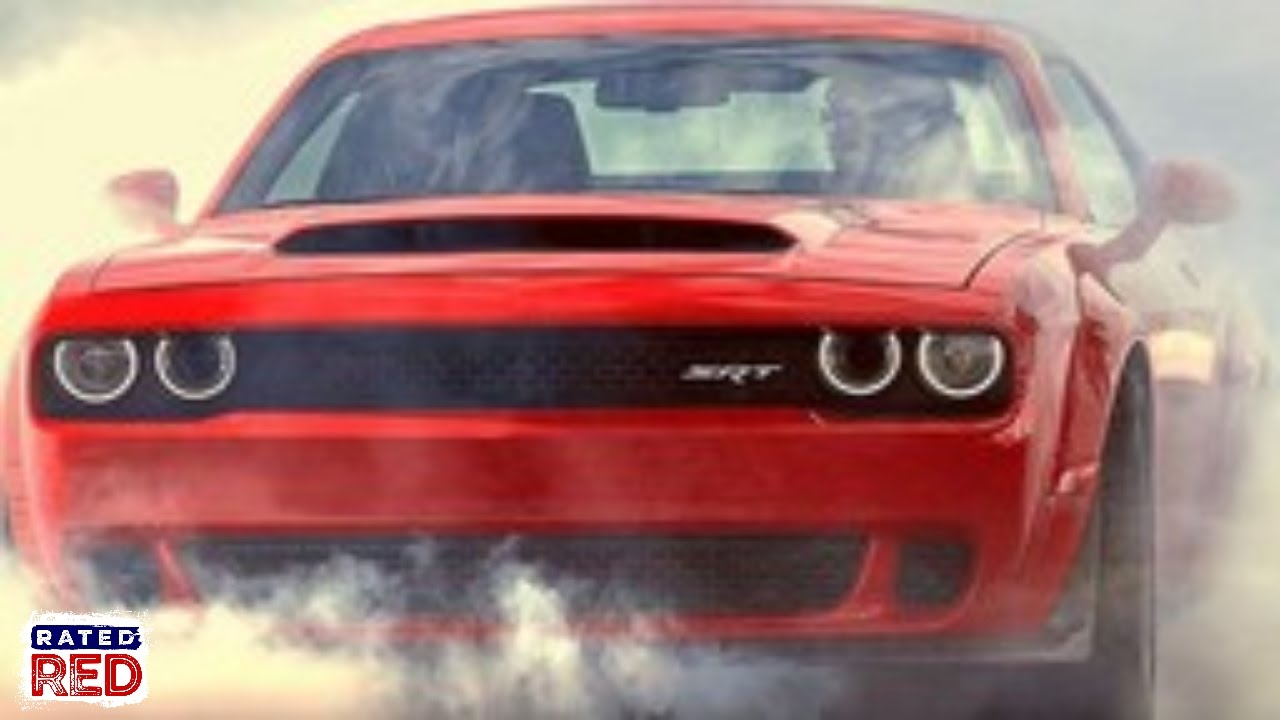 The Fastest Production Car Ever: The 2018 Dodge Challenger SRT Demon ...
