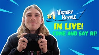 SOLOS LIVE! - Use code : Prattyboii (Fortnite Battle Royale LIVE)