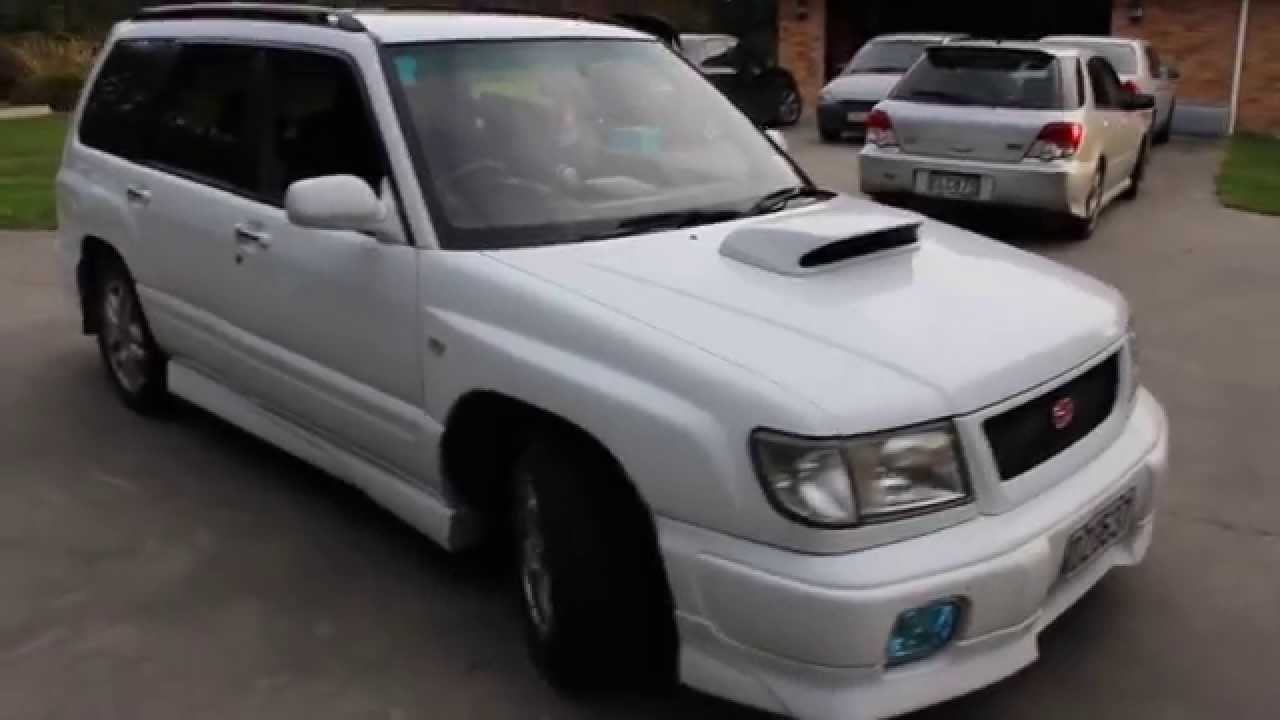 1998 subaru forester stb startup and idle - youtube