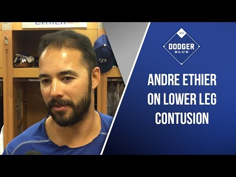 Andre Ethier On Lower Leg Contusion