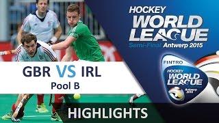 Great Britain v Ireland Match Highlights - Antwerp Men
