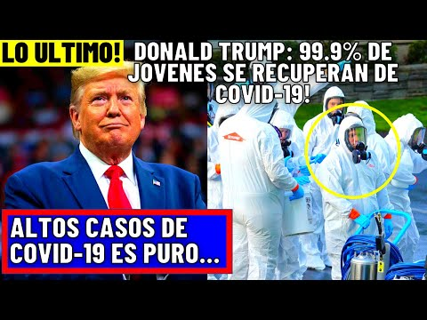 ULTIMO MOMENTO!  DONALD TRUMP AFIRMO QUE EL BROTE DE EL COVID-19 SON NOTICIAS FALSAS