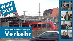 Kandidatencheck Verkehr: Wahl in Erlangen 2020