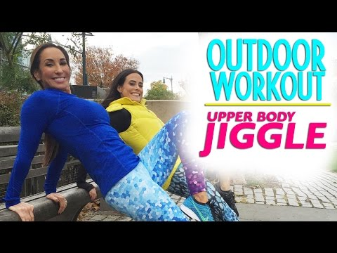 Upper Body Jiggle Be Gone! Outdoor Workout in NYC   Natalie Jill