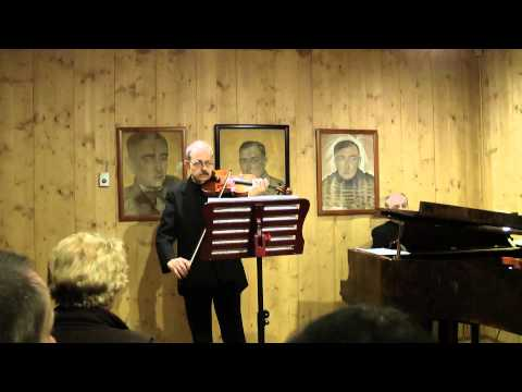 "Roman Reiner - ""ATMA"" Recital 2015 - Mozart, Szymanowski, Franck"