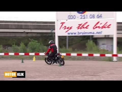 Multitest 125cc 11 kilowatt opstapmodellen A1 Rijbewijs