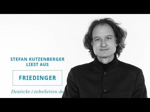 Stefan Kutzenberger liest aus Friedinger