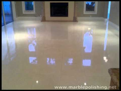 How To Re Polish Marble Floors By Hand In Ft Lauderdale