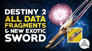 Destiny 2 | ALL Data Fragment Locations guide & New Exotic Worldline Sword
