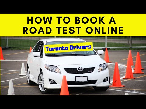 HOW TO BOOK A ROAD TEST ONLINE? || CANADA || TORONTO DRIVERS