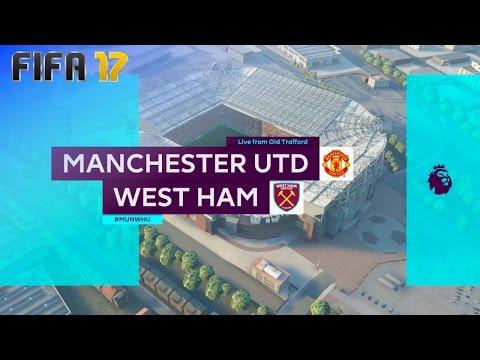 FIFA 17 - Manchester United vs. West Ham United @ Old Trafford