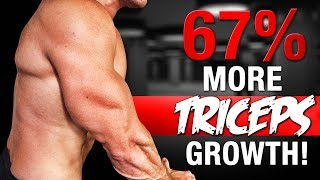 67% FASTER TRICEPS GROWTH!   3 EASY STEPS!