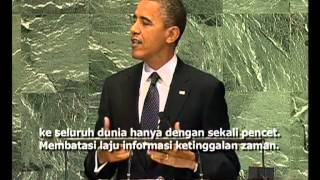 Download Video Pidato SBY dan Barack Obama dalam Sidang Majelis Umum PBB - Liputan Berita VOA 26 September 2012 MP3 3GP MP4