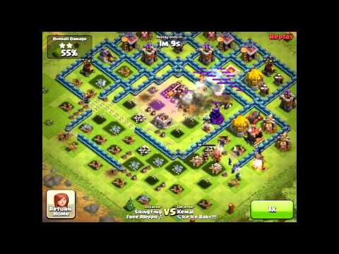 Clash Of Clans ShingFing VS Kemal Ice Ice Baby) final