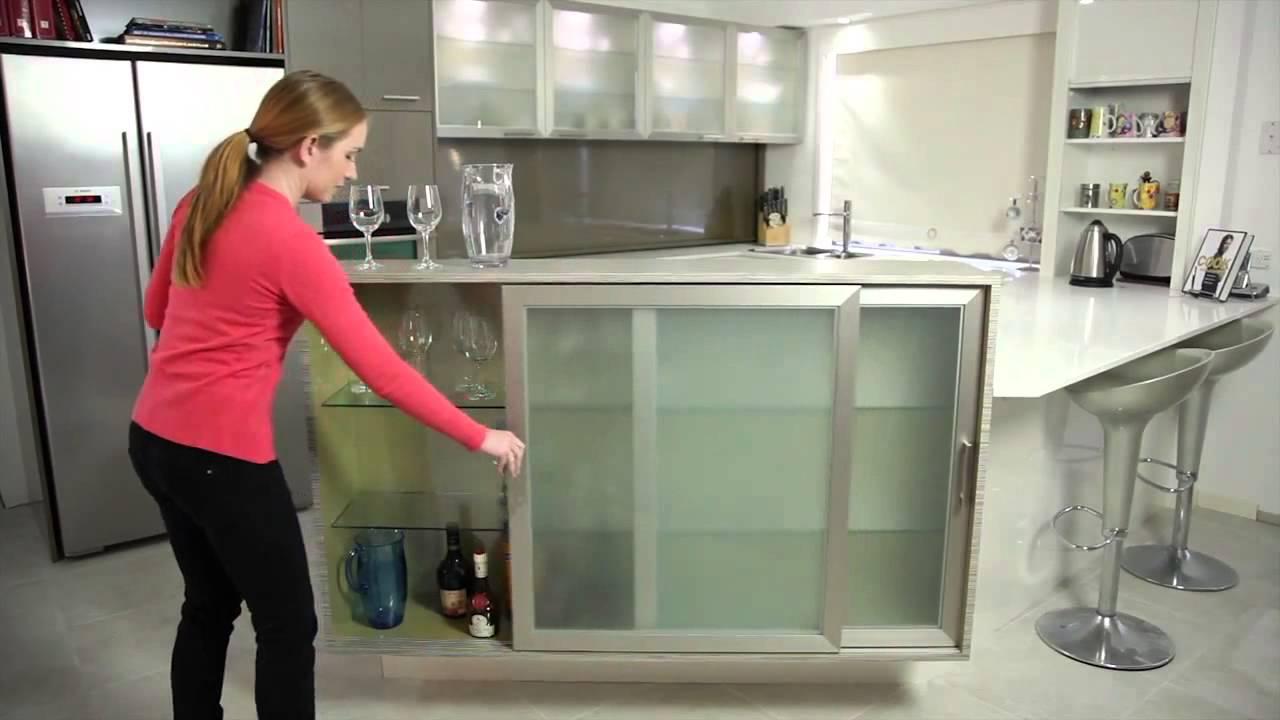 Aluminium Framed Cabinet Doors Youtube