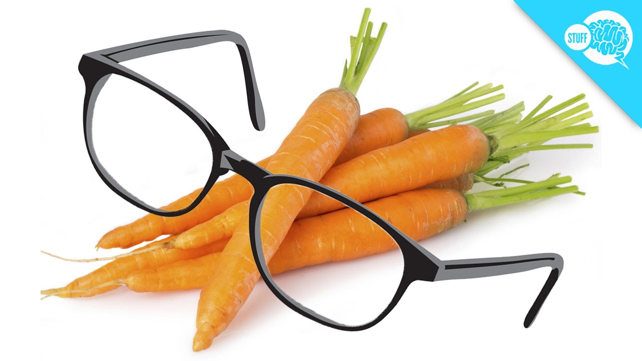 Do Carrots Really Give You Better Eyesight Youtube