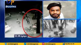 Father Hate Inter Caste Marriage   and Attacks Daughter and Son in law    at Erragadda in Hyderabad