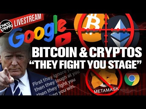 Google Crypto Attack Begins! The Government Next!?