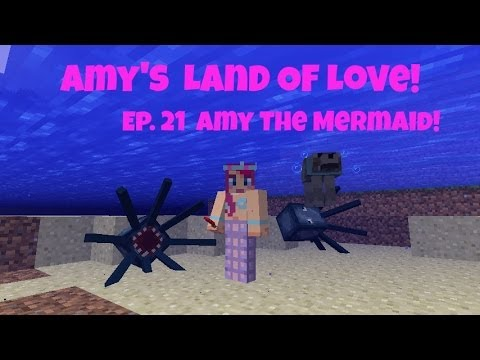 Amy's Land Of Love! Ep. 21 Amy The Mermaid! | Amy Lee33