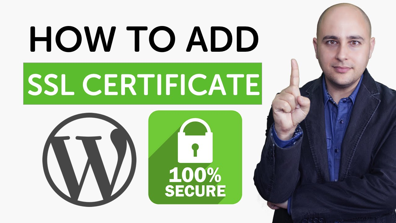 How To Add Https Ssl Certificate To Wordpress Website Youtube