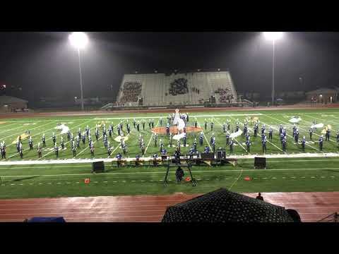 Veterans Memorial ECHS 2018 Marching Band Dystopia Pigskin