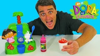 Dora The Explorer Sno Cone Maker ! ||  Toy Review || Konas2002
