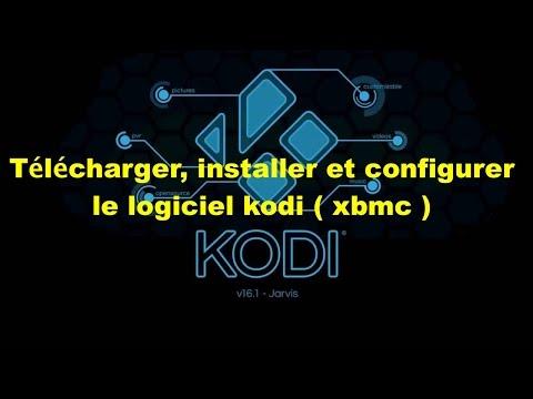 Télécharger, installer et configurer le logiciel kodi ( xbmc )