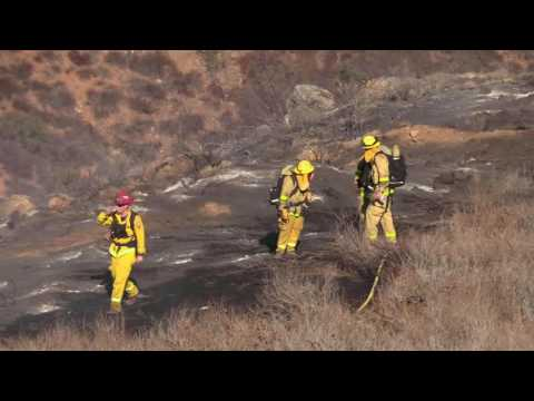 Spring Valley: The Pointe Fire 08172016