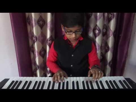 Khaike Paan Banaras Wala  on piano