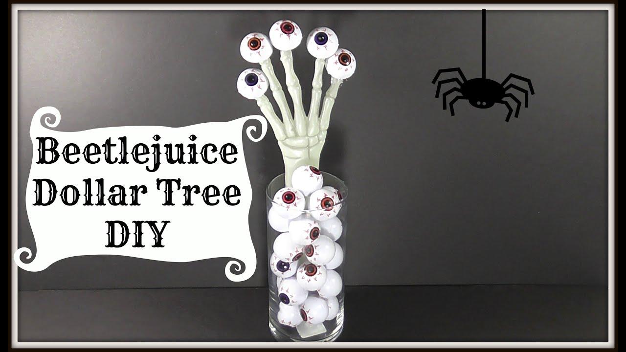 Beetlejuice Dollar Tree Diy Easy Decor