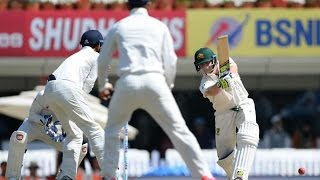 Live cricket score: India vs Australia, 3rd Test, Day 1:INDbank on spinners